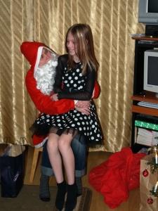 Mina 4 aastat tagasi jõuluvanana